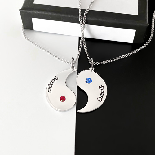Cadeau personnalisé collier à offrir pour la Saint Valentin