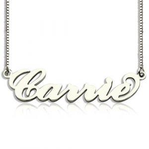 Collier prénom Carrie Bradshaw à personnaliser