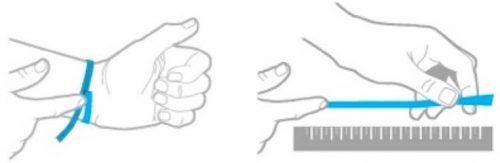 Guide des tailles bracelet personnalisé La boutique MAB