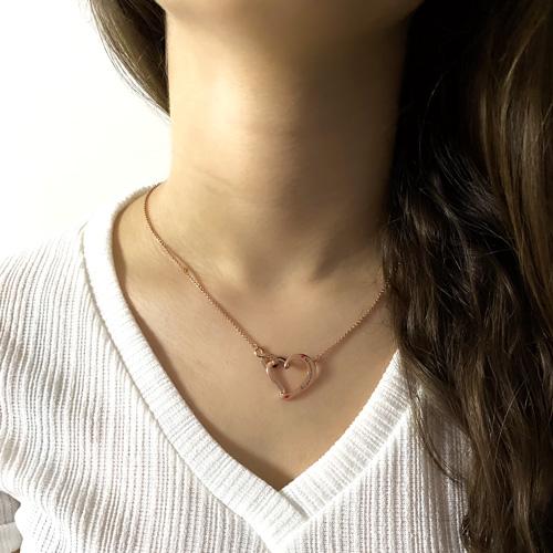 Bijou infini collier d'amitié personnalisé avec prénom et texte collier en argent 925