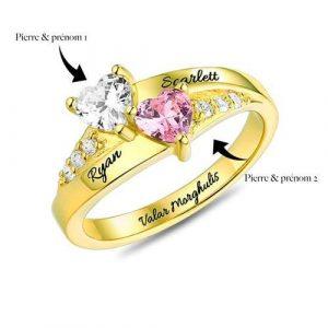 Bague de fiançailles à personnaliser