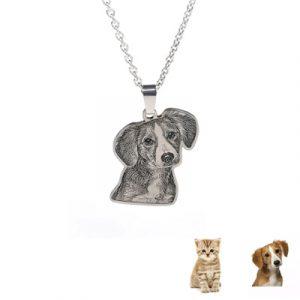 Collier chien et chat personnalisé