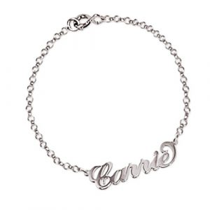 Bracelet prénom Carrie Bradshaw