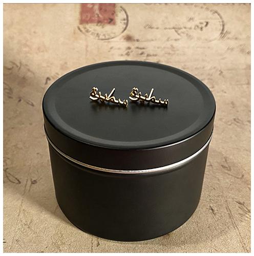 Boucles d'oreilles personnalisées en arabe cadeau personnalisé