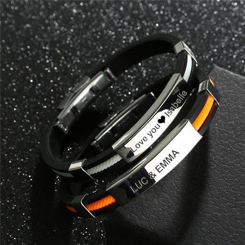 Bracelet pour Homme en acier inoxydable