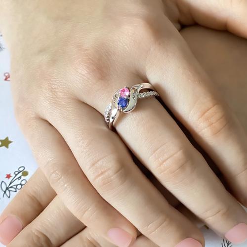 Bague de fiançailles personnalisée bague personnalisée avec prénom