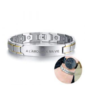 Bracelet magnétique personnalisable