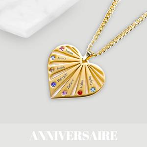 Cadeau d'anniversaire personnalisé bijou est accessoires pour homme et femme