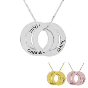Collier Russe 3 anneaux