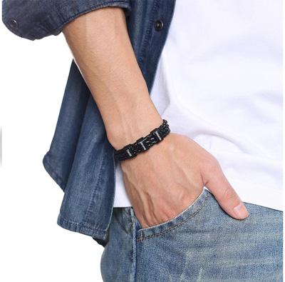 Bracelet homme gravé texte bracelet personnalisé avec inscription