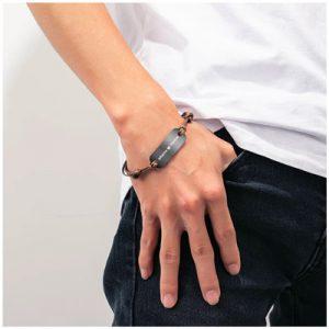 Bracelet cordon personnalisé