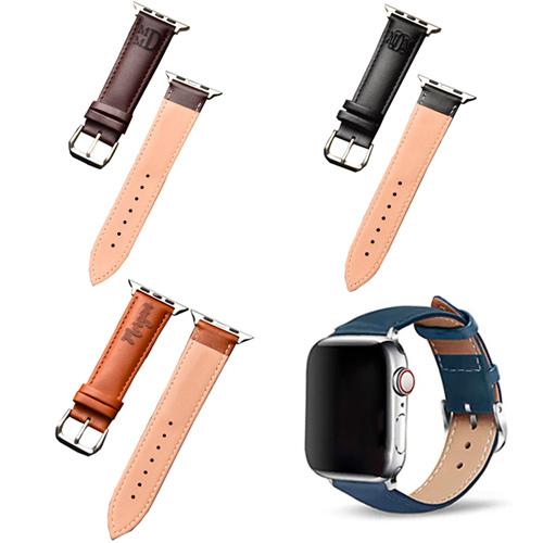 Bracelet cuir apple watch personnalisé cadeau personnalisé avec gravure
