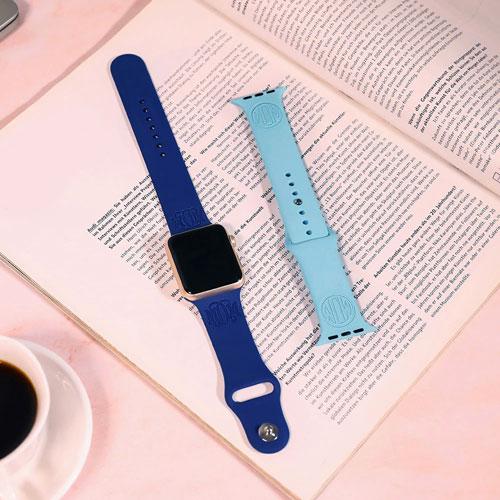 Bracelet personnalisé pour apple watch bracelet à graver avec prénom